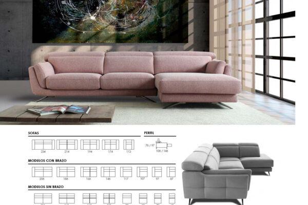 Ficha técnica sofá 10c-0011-10d-0003