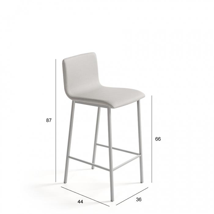 Ficha técnica de taburete 15d-0004