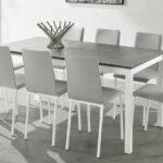 Mesa de cocina 15b-0003 blanco vista ambiente