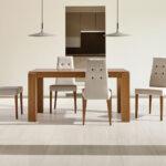 Mesa de comedor 14b-0011 madera vista ambiente frontal