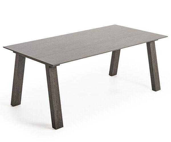Mesa de comedor 14b-0027 color gris vista técnica