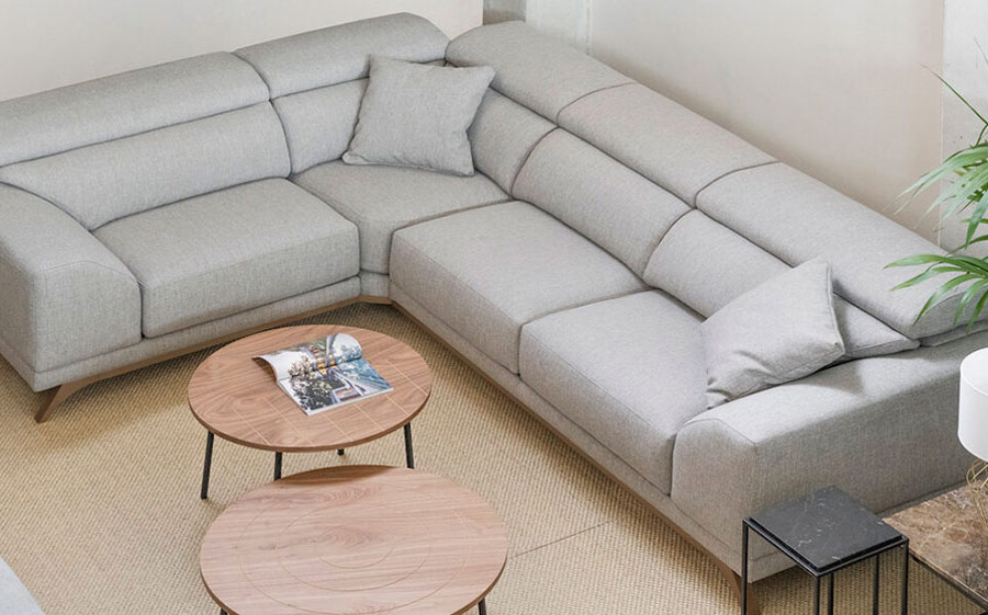 Rinconera 10c-0010 color gris vista top