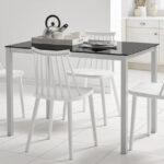 Sillas de cocina 15c-0010 color blanco vista ambiente
