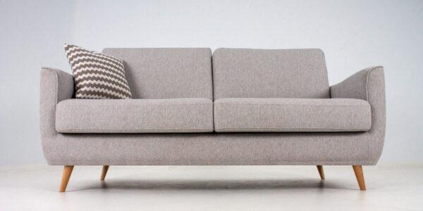 Sofá 2-3- plazas 10d-0006 color gris vista frontal