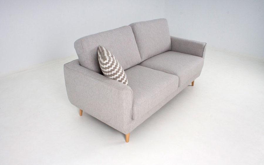 Sofá 2-3- plazas 10d-0006 color gris vista top