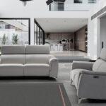 Sofá 2-3 plazas 10d-0023 color gris vista ambiente de la colección
