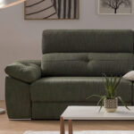 Detalle de sofá cama 10e-0008 color verde
