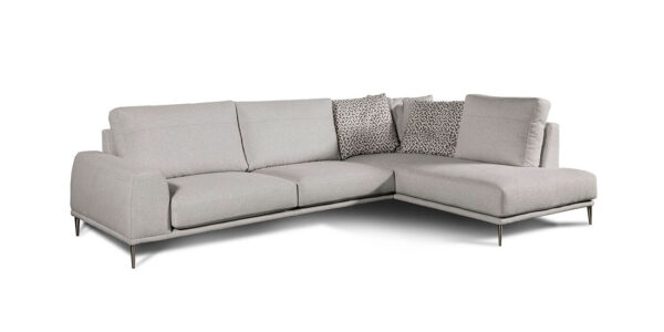 Sofá chaise longue 10b-0013 vista técnica