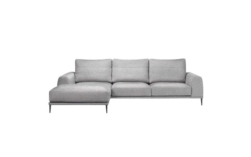 Sofá chaise longue 10b-0013 vista frontal