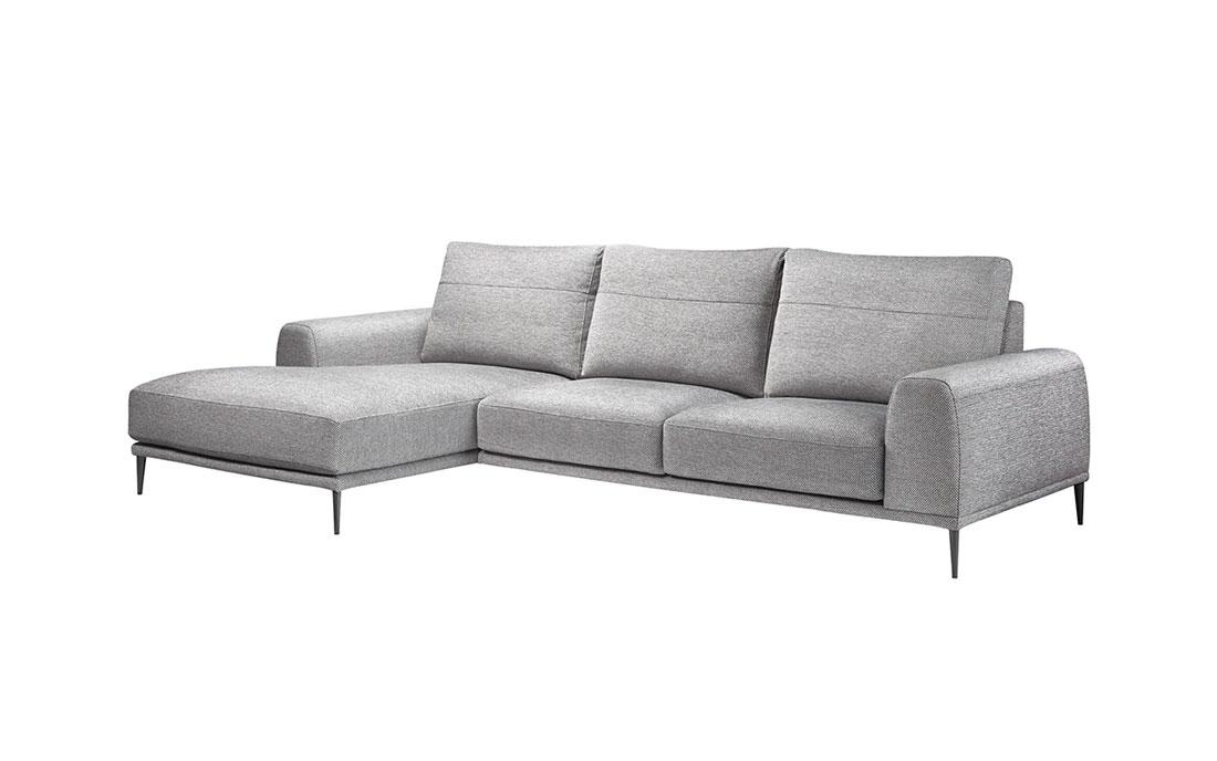 Sofá chaise longue 10b-0013 vista lateral