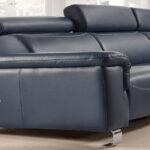 Sofá Chaise Longue 10b-0023 color azul vista de detalle