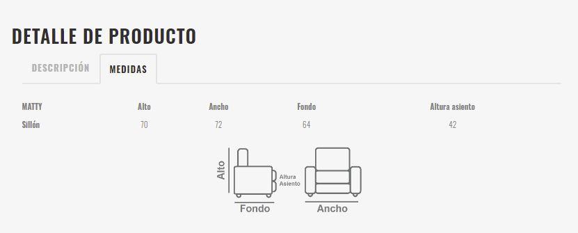 Ficha técnica butaca 10a-0017